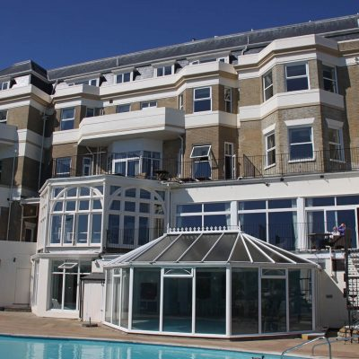 Hallmark Hotel Bournemouth Carlton - completed external works