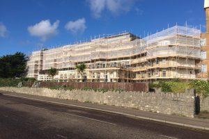 Hallmark Hotel Bournemouth Carlton - complete scaffolding
