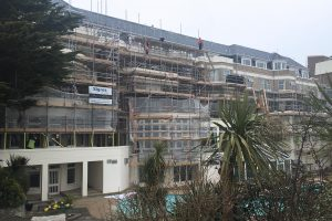 Hallmark Hotel Bournemouth Carlton - works commence
