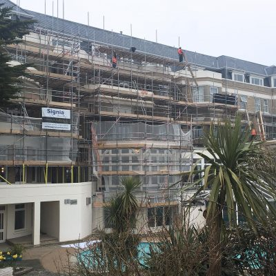 Hallmark Hotel Bournemouth Carlton - works commence