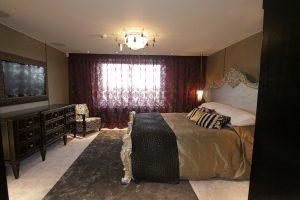 Mayfair apartment - bedroom