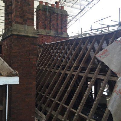 Hallmark Hotel Stourport Manor - roof renovation