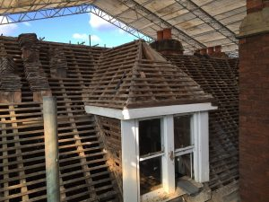 Hallmark Hotel Stourport Manor - tile removal