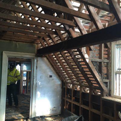 Hallmark Hotel Stourport Manor - roof interior