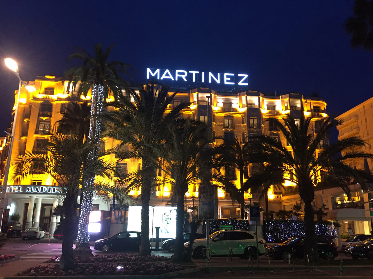 It's in the Cannes!